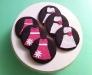 Pink Dress Cookies