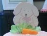 Bunny on Pink Cake