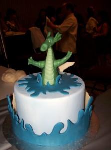 Splashing Dragon